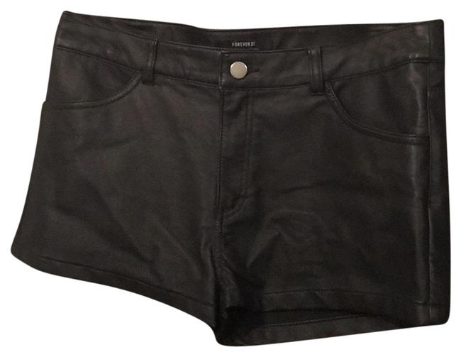 Item - Black Faux Leather Shorts Size 8 (M, 29, 30)