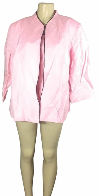 Preload https://img-static.tradesy.com/item/25292729/jessica-howard-pink-linen-blazer-and-blouse-jacket-size-20-plus-1x-0-1-650-650.jpg