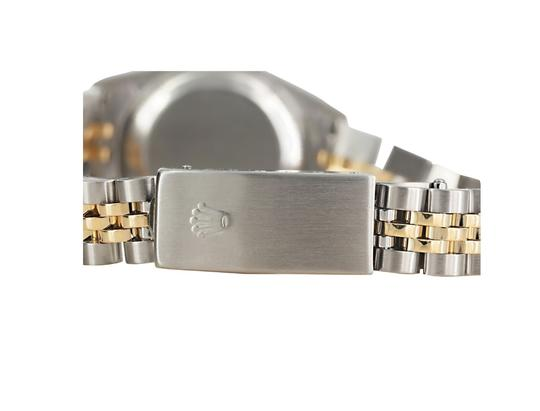 Rolex Ladies Stainless Steel/Yellow Gold Diamond Dial with Fluted Bezel Image 3