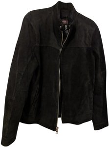 Michael Kors Goat Motorcycle Mens Soft Chic Leather Jacket
