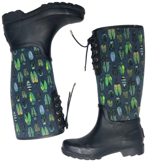 Tory Burch Blue Green Boots Image 0