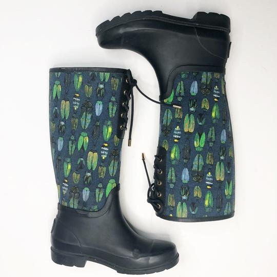 Tory Burch Blue Green Boots Image 1