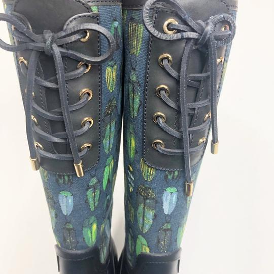 Tory Burch Blue Green Boots Image 4
