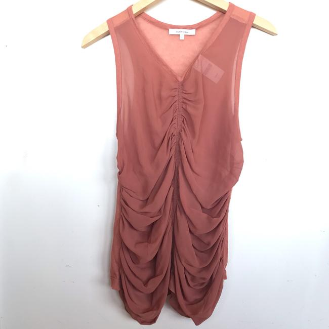 Carven Top Terracotta Image 10