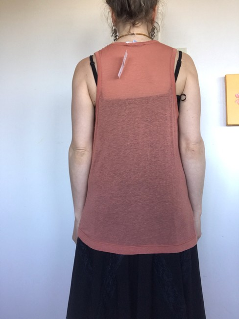 Carven Top Terracotta Image 3