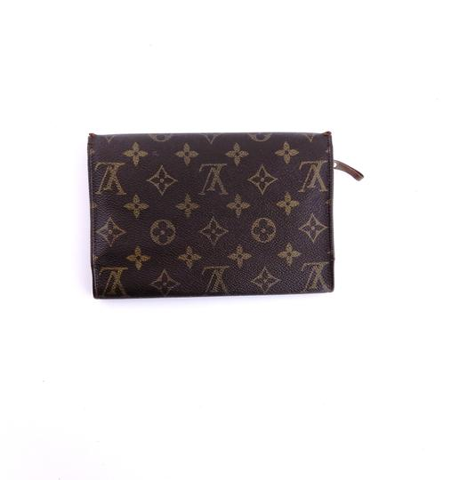 Louis Vuitton Rare Vintage Continental Monogram Canvas Leather Clutch Trifold Wallet Image 1