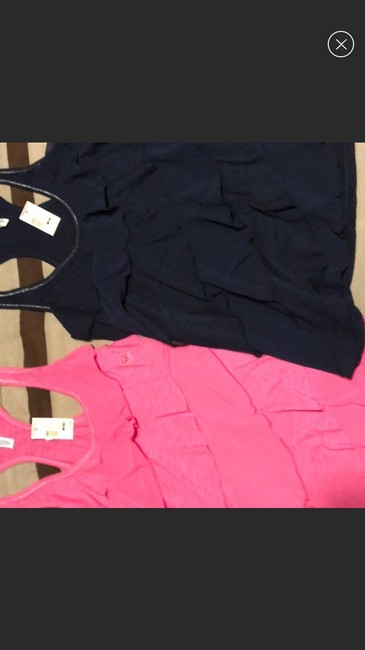 American Eagle Outfitters Top red pink blue Image 1