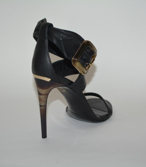 Burberry Python Black Sandals Image 10