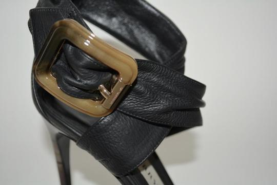 Burberry Python Black Sandals Image 6