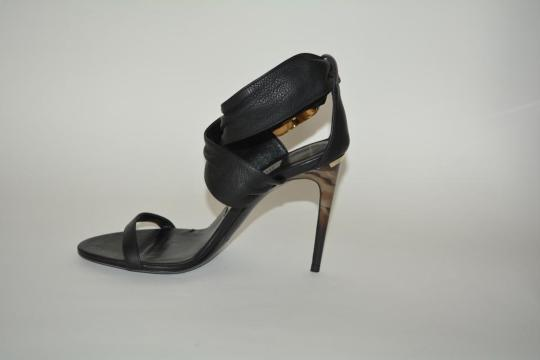 Burberry Python Black Sandals Image 8