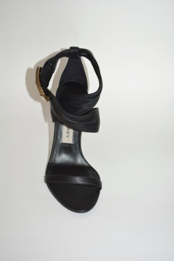 Burberry Python Black Sandals Image 9