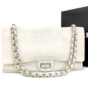 8adcf4998e89 Chanel Classic Jumbo Maxi Flap Shoulder Bag · Chanel. 2.55 Reissue Double  Flap Cambon Embossed Ivory 31 Rue ...
