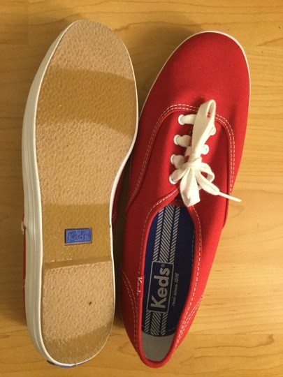 Keds Red Athletic Image 2