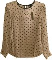 J.Crew Top Star Print (White/Navy)