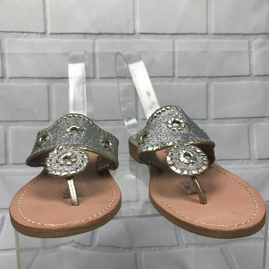 Jack Rogers Silver Sandals Image 10