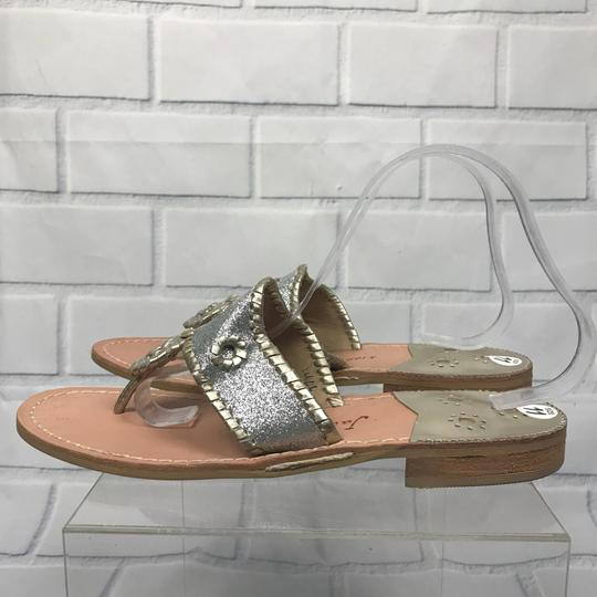 Jack Rogers Silver Sandals Image 2