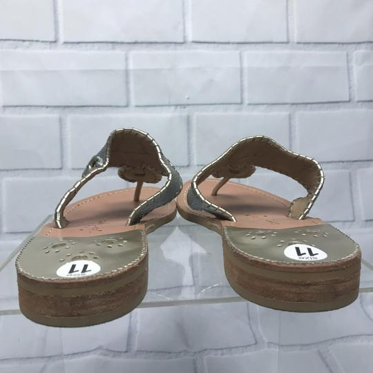Jack Rogers Silver Sandals Image 3
