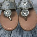 Jack Rogers Silver Sandals Image 4