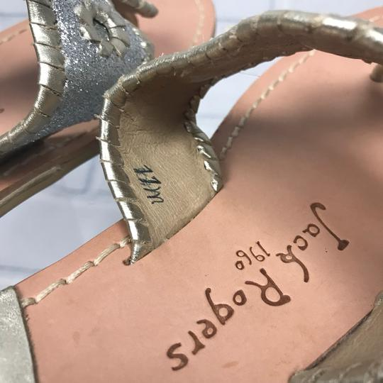 Jack Rogers Silver Sandals Image 5