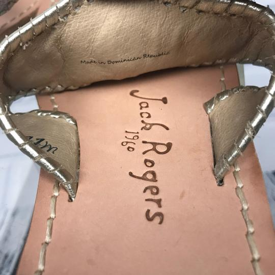 Jack Rogers Silver Sandals Image 6