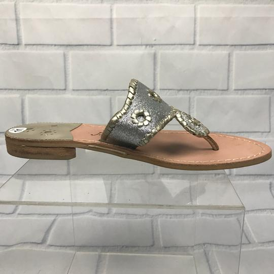 Jack Rogers Silver Sandals Image 7
