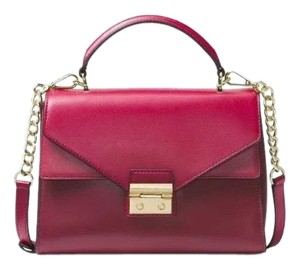 Michael Kors Satchel in mulberry