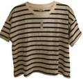 Madewell T Shirt White/Navy stripe