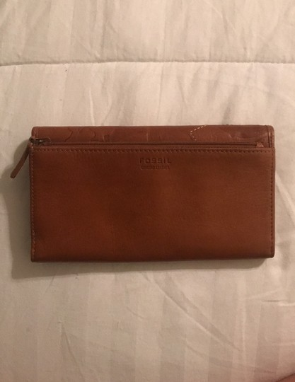 Fossil Brown clutch Image 1
