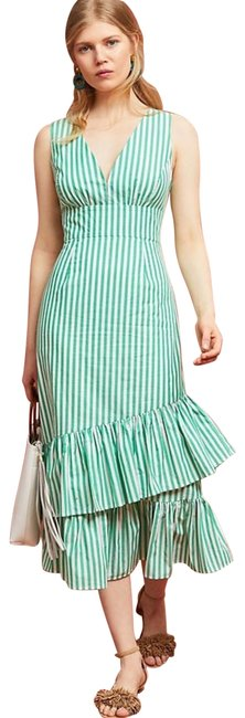 Preload https://img-static.tradesy.com/item/25293551/tracy-reese-green-and-white-stripe-maxi-maternity-dress-size-6-s-0-1-650-650.jpg
