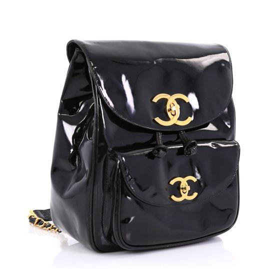 Chanel Leather Backpack Image 2