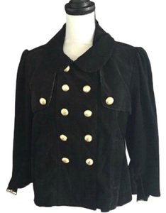 Juicy Couture Black and Gold Jacket