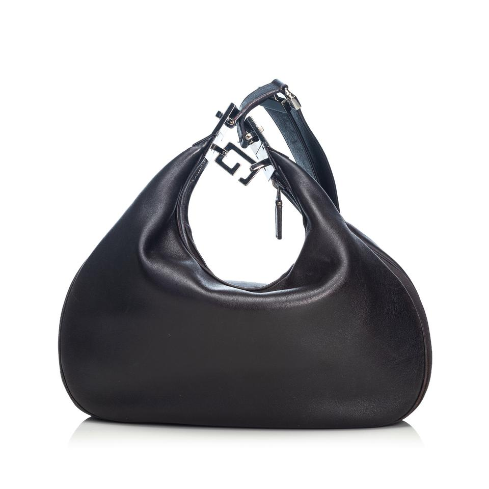 919942e2 Gucci Italy W Dust Black Leather Hobo Bag 62% off retail