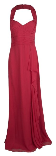Preload https://img-static.tradesy.com/item/25294019/marchesa-notte-red-silk-chiffon-halter-evening-gown-l-casual-maxi-dress-size-12-l-0-1-650-650.jpg