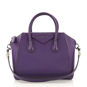 Givenchy Leather Tote in purple