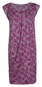 Kenzo short dress Pink Print Floral on Tradesy