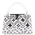 Louis Vuitton Leather Silver Hardware Rare Bold Shoulder Bag