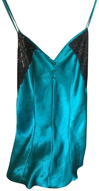 Partners Teal Nighties Short Casual Dress Size 6 (S) Partners Teal Nighties Short Casual Dress Size 6 (S) Image 1