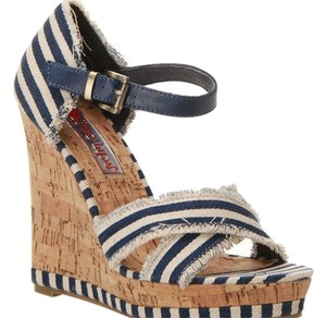 Two Lips Blue Wedges