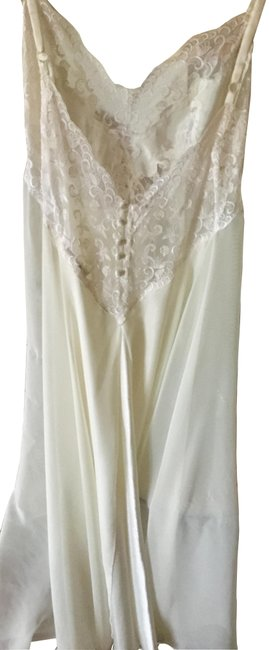 Item - White Nighties Long Short Casual Dress Size 10 (M)