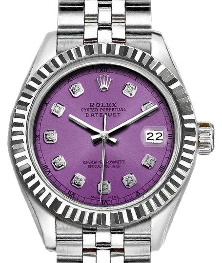 Preload https://img-static.tradesy.com/item/25294871/rolex-purple-ladies-26-mm-datejust-with-diamond-dial-watch-0-1-540-540.jpg