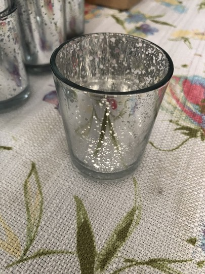 Silver with Warm Light Battery Tea Votive/Candle Image 2