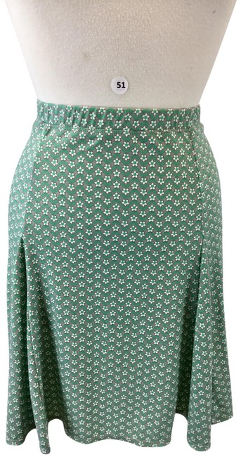 Item - Green and Black Skirt Size 14 (L, 34)