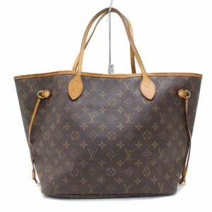 Louis Vuitton M40156 Neverfull Mm Lv Lv Shoulder Bags Lv Monogram Tote in Brown
