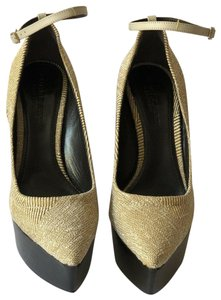 Burberry Prorsum LIGHT MUSTARD Platforms