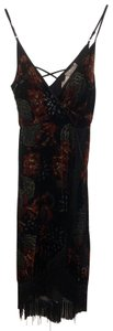 black and red Maxi Dress by Band of Gypsies
