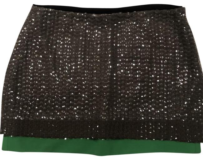 Item - Grey and Green 41003 Skirt Size 8 (M, 29, 30)