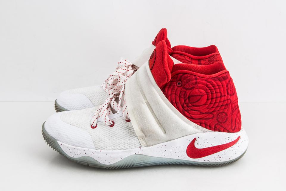 best loved 6cbd6 786db Nike White Kyrie 2 Gs Touch Factor Red/White Shoes 36% off retail
