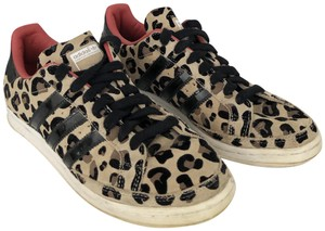 adidas Patent Leather Suede Sneaker leopard Athletic