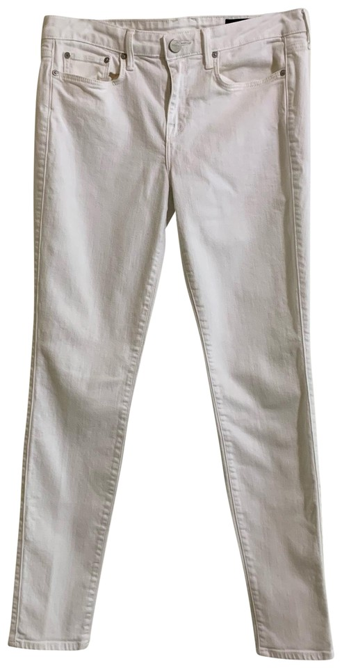 3d3a5df54ea4ef Vince White Light Wash Riley Skinny Jeans Size 8 (M, 29, 30) - Tradesy