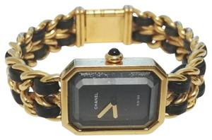 Chanel premiere 18k 20 micron gold plated luxe watch